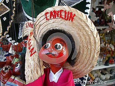 Marioneta de Cancun