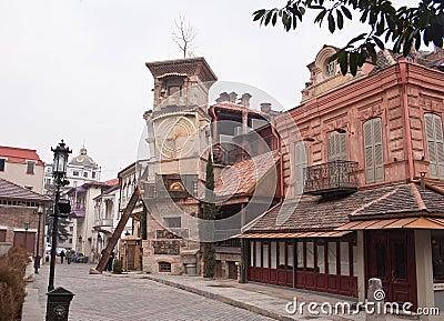 Marionette Theater Rezo Gabriadze. Tbilisi, Geo