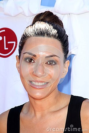 Marisol Nichols at LG s Day of Good Clean Fun, Asconia Mansion, Beverly Hills, CA 06-23-12 Editorial Photo