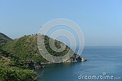 Maritime city of Santa Marta.