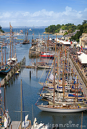 Maritime feast in brittany douarnenez