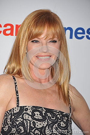 Marj Helgenberger Editorial Stock Image