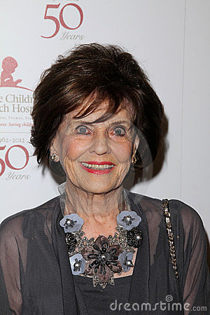 Marjorie Lord at the St. Jude Children s Research Hospital 50th Anniversary Gala, Beverly Hilton, Beverly Hills, CA 01-07-12 Editorial Stock Image