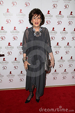Marjorie Lord at the St. Jude Children s Research Hospital 50th Anniversary Gala, Beverly Hilton, Beverly Hills, CA 01-07-12 Editorial Photography