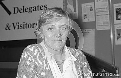 Marjorie (Mo) Mowlam Editorial Stock Photo