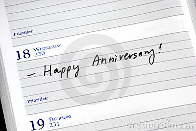 Mark the anniversary