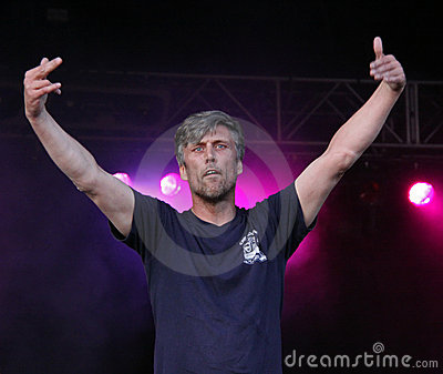 Mark Berry (Bez) of Happy Mondays Editorial Photography