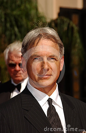 Mark Harmon Editorial Stock Image