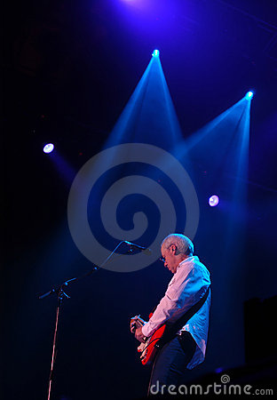 Mark Knopfler - Dire Straits Editorial Stock Photo