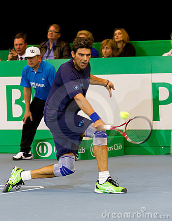 Mark Philippoussis at Zurich Open 2012 Editorial Image