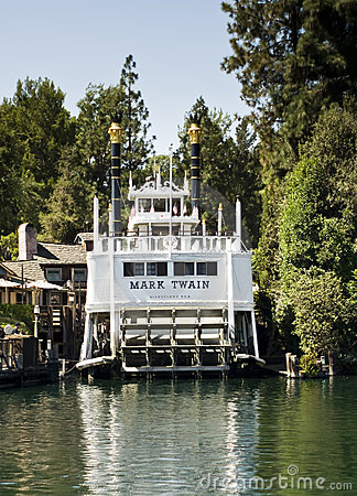 Mark Twain Disneyland California Editorial Stock Photo