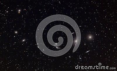 Markarian s Galaxies Chain