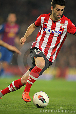 Markel Susaeta of Athletic Bilbao Editorial Photo