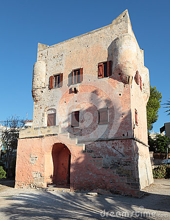 Markellos Tower in Aegina