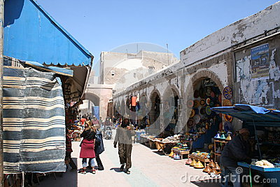 Market in Essaouira, Morocco Editorial Stock Image