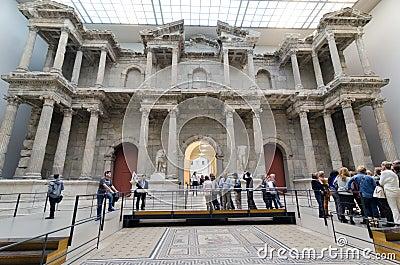 Market Gate of Miletus Editorial Photo