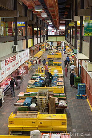 Market hall Editorial Image