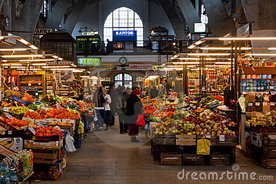 Market hall Editorial Photography