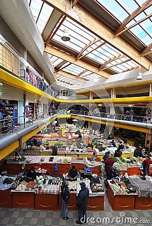 Market indoor Editorial Image