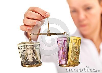Market research - money balance analyzed