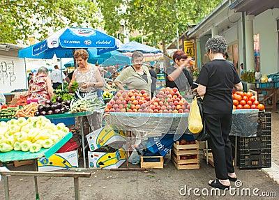 Market in Split Editorial Image
