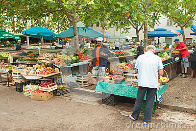 Market in Split Editorial Image