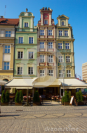 Free Market Square In Old Town Of Wroclaw Stock Images - 24800434