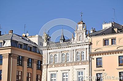 The market square in krakov