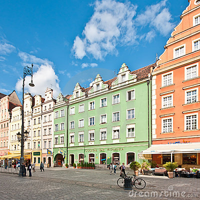 Free Market Square - Main Square In Wroclaw, Poland Royalty Free Stock Photos - 20253658