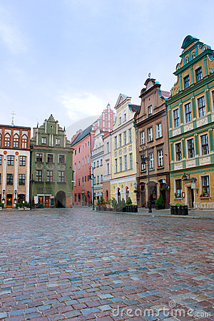 Market square of Poznan, Poland