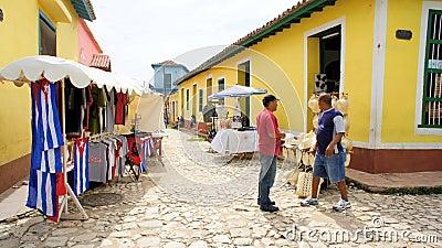 The market in Trinidad. Cuba. Editorial Stock Photo
