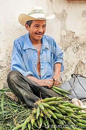 Marketeer from Honduras Editorial Stock Image