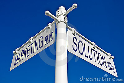 Blvd_solutionmanier Van De Marketing Stock Afbeeldingen - Beeld: 6049784