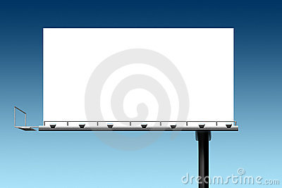 Marketing sales outdoor sign billboard