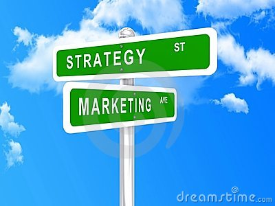 Marketing strategy intersected