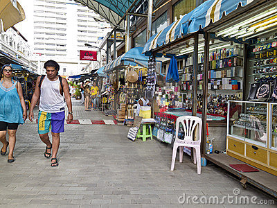 Markets in Phuket Editorial Image