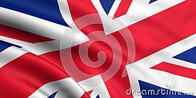 Markierungsfahne von Großbritannien