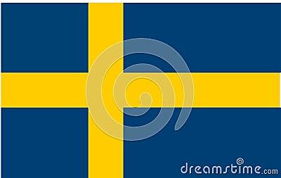 Markierungsfahne von Schweden