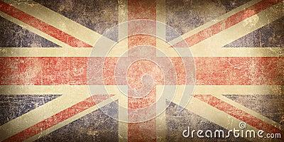 Markierungsfahne von Vereinigtem Königreich.