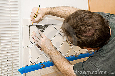 Marking Ceramic Tile
