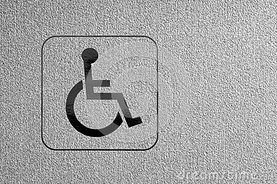 Marking disability.