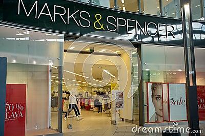 Marks and Spencer store in Bratislava