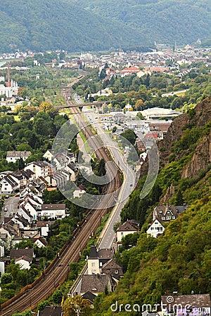 The Marksburg near Koblenz Germany.