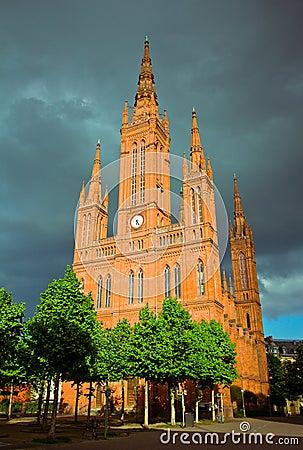 Marktkirche in Wiesbaden, Germany