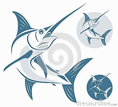 Free Marlin Fish Royalty Free Stock Image - 27608466
