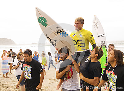 Marlon Lipke: winner Pantin Classic 2012 Editorial Stock Photo
