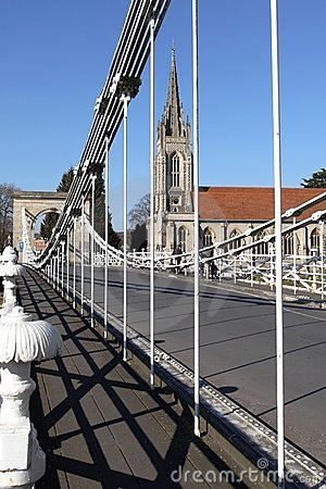 Free Marlow Bridge In England Royalty Free Stock Images - 13321829