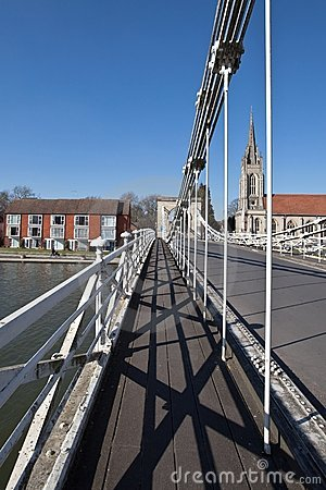 Free Marlow Bridge In England Stock Images - 13369064