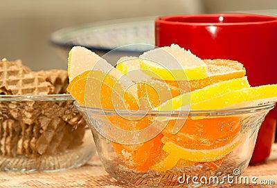 Marmalade lemon wedges