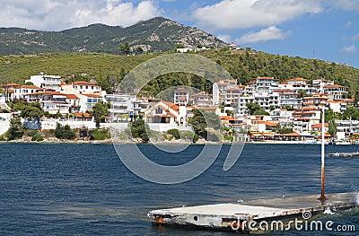 Marmaras summer resort in Greece